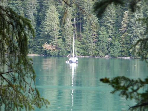 "<a href=""/node/152"">The Bonnie from Juneau, at anchor and at peace...</a>"